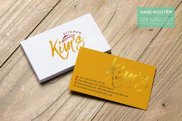 Thiết kế in ấn card visit rẻ đẹp