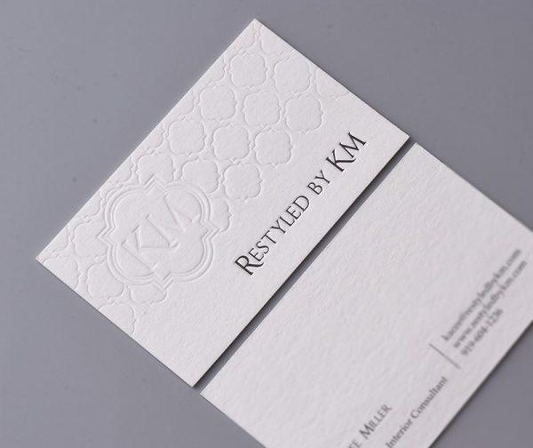 Name card công ty KM