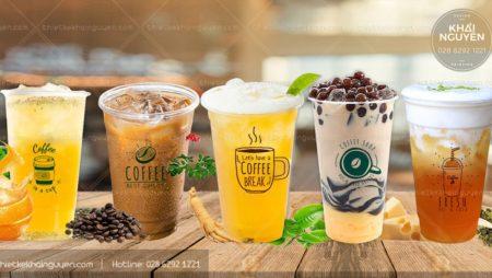 20+ mẫu decal dán ly nhựa cafe, trà sữa, quán trà… .