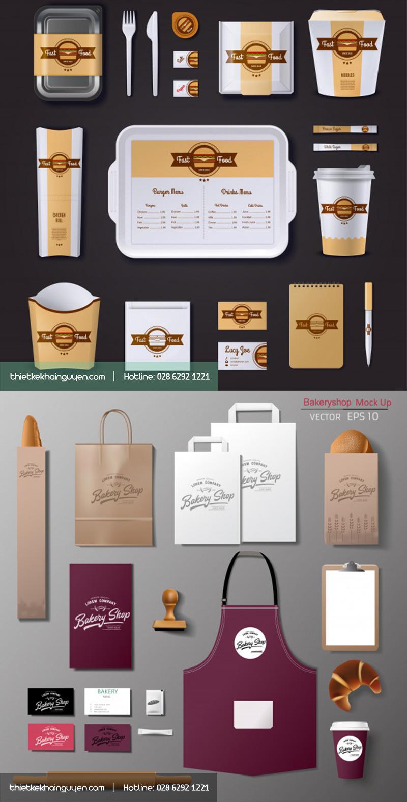 Thiết kế in ấn quảng cáo thương hiệu ẩm thực