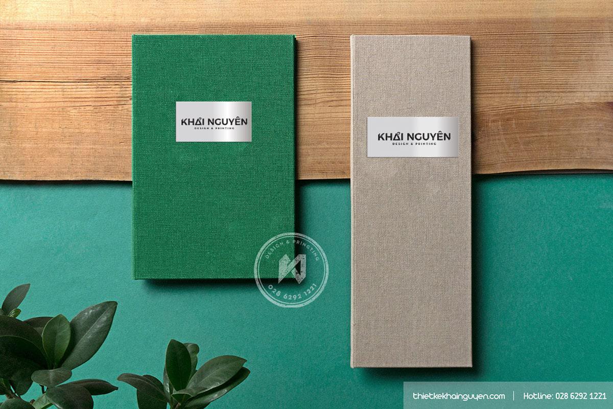 Thiết kế & in bìa menu chuyên nghiệp