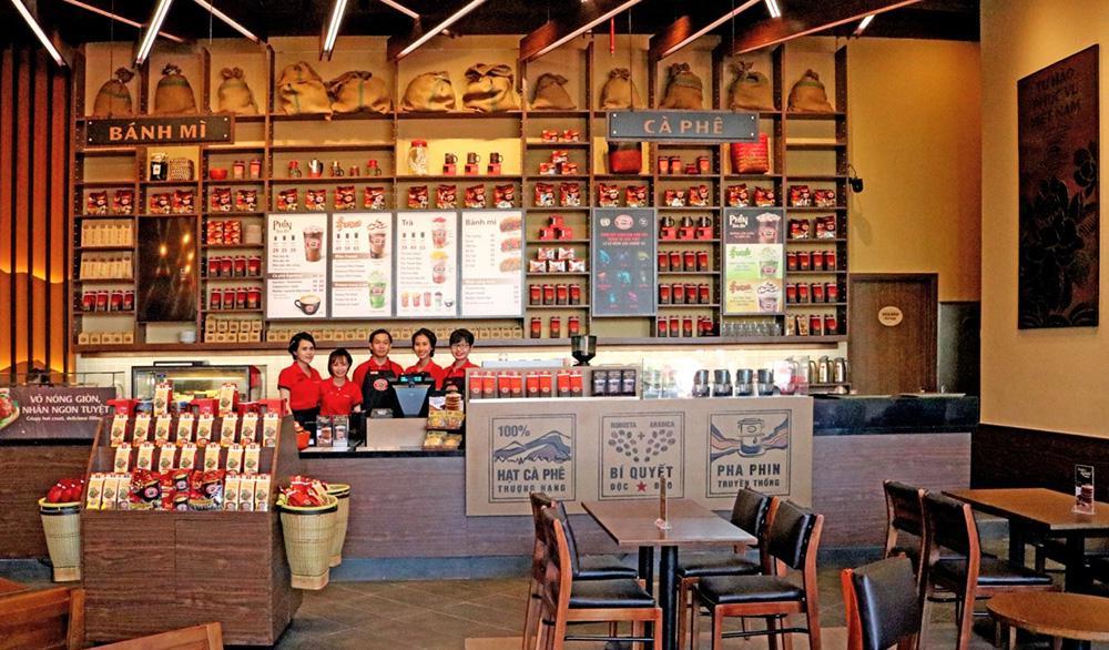 Dạng menu dán quầy Take away cho quán cafe, tiệm bánh.