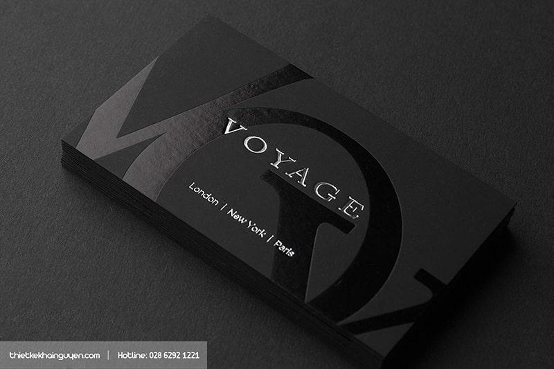 Luxury Business Card với công nghệ ép kim đẹp như UV