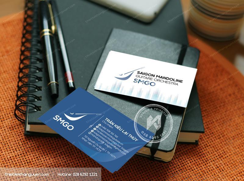 Mẫu cardvisit kinh doanh - Thiết kế name card công ty SMGO