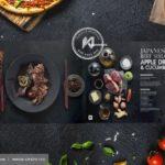 Thiết kế Menu kiểu Catalogue – Masterchef Menu Design