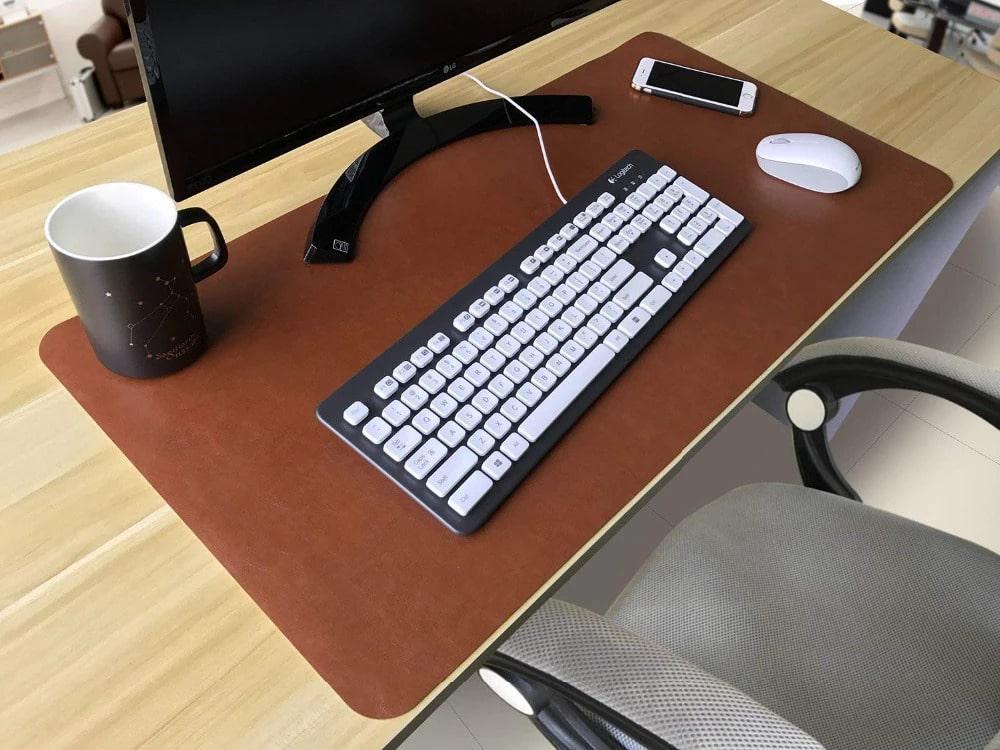 Miếng lót bàn làm việc bằng da cực đẹp