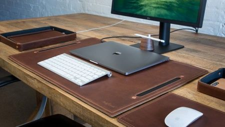 Miếng lót bàn làm việc da PU cao cấp – Leather deskpad