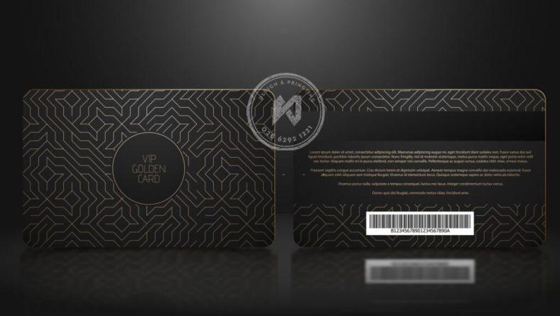 Thiết kế thẻ VIP sang chảnh với best template