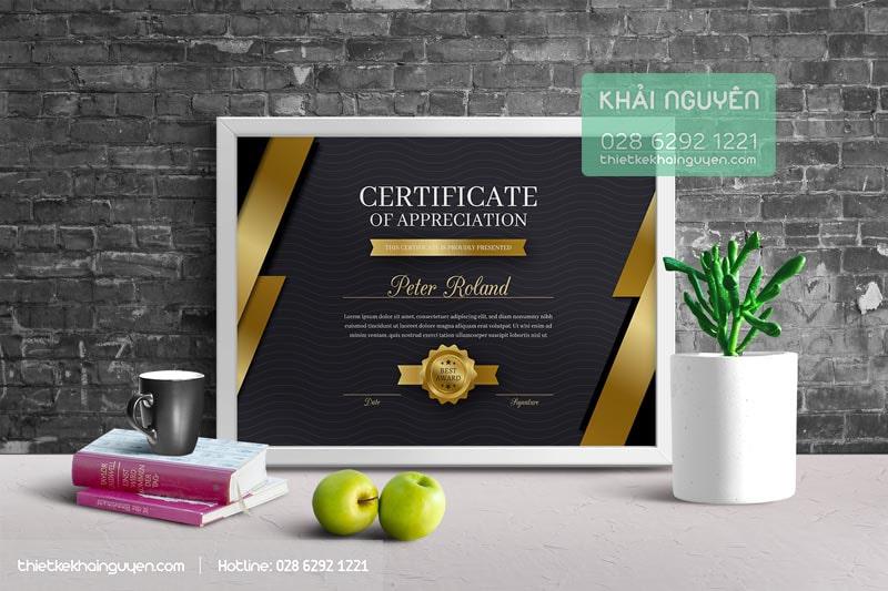Certificate Design Template VIP