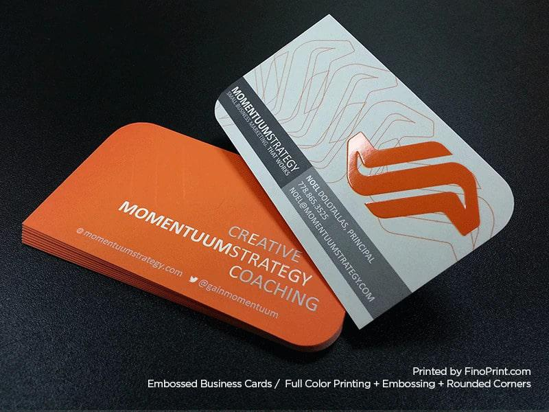 Businesscard Boutique Spa Design UV Logo
