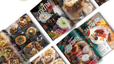 7 mẫu menu nhà hàng đẹp với thiết kế sang trọng.