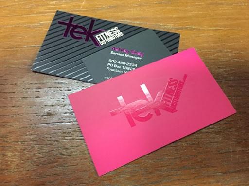 In name card với công nghệ UV nền ấn tượng