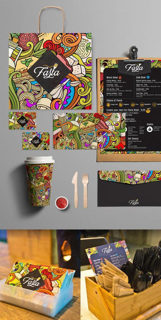 Thiết kế in ấn cho thương hiệu thức ăn nhanh