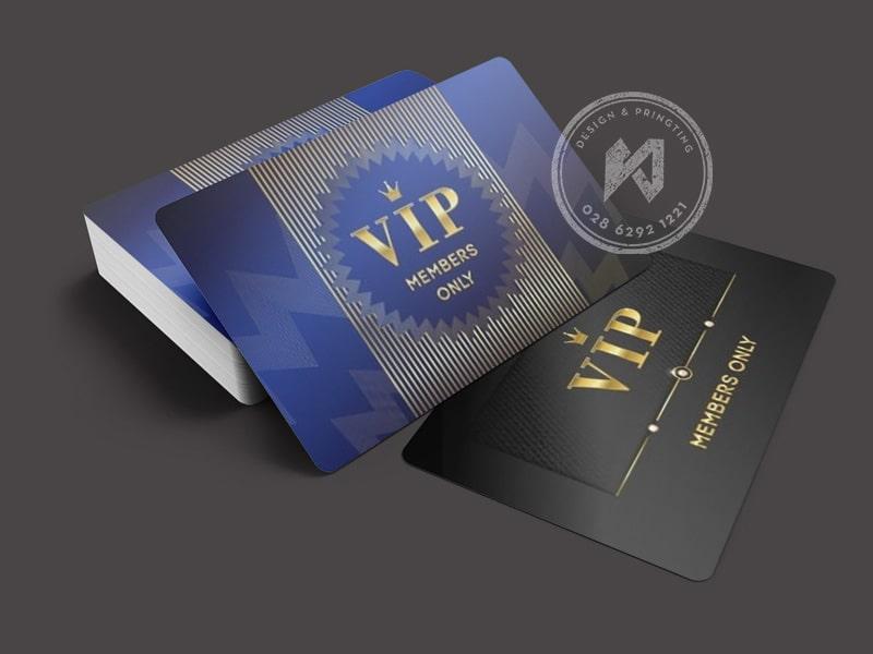 Mẫu thẻ VIP cao cấp mới năm 2020