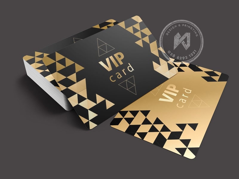 In thẻ VIP CARD GOLD LUXURY