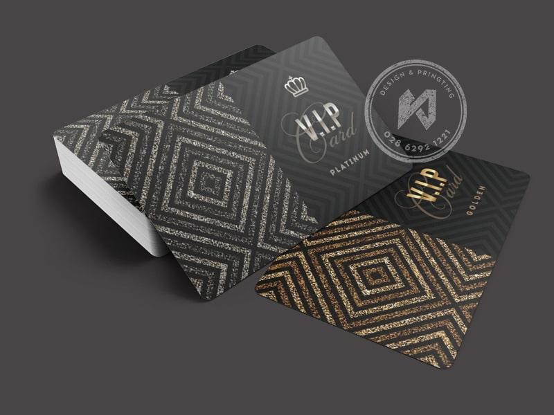 VIP MEMBER CARD TEMPLATE Platinum