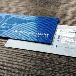 In card visit UV SPOT là gì?