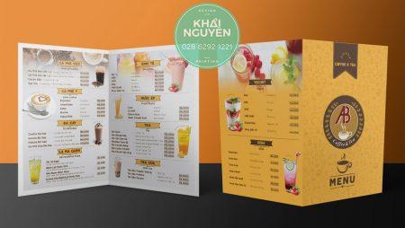 10+ Thiết kế menu bảng cafe, trà sữa, quán nước siêu đẹp.