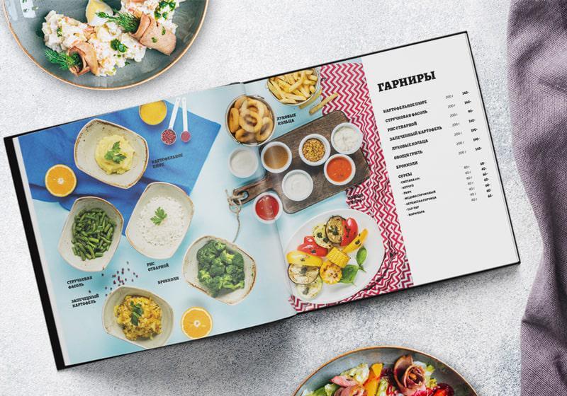 Kiểu thiết kế thực đơn cho nhà hàng đơn giản mà ấn tượng