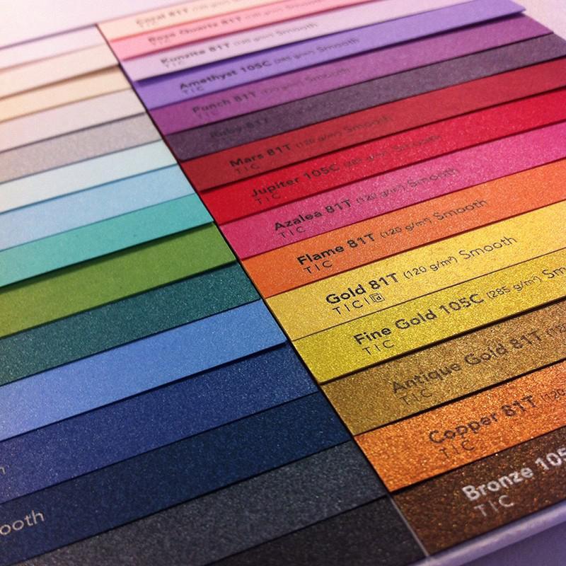 Giấy mỹ thuật nhiều màu cho ngành in ấn