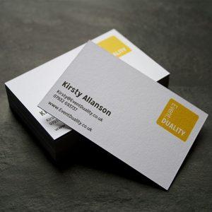 In name card gấp lấy liền