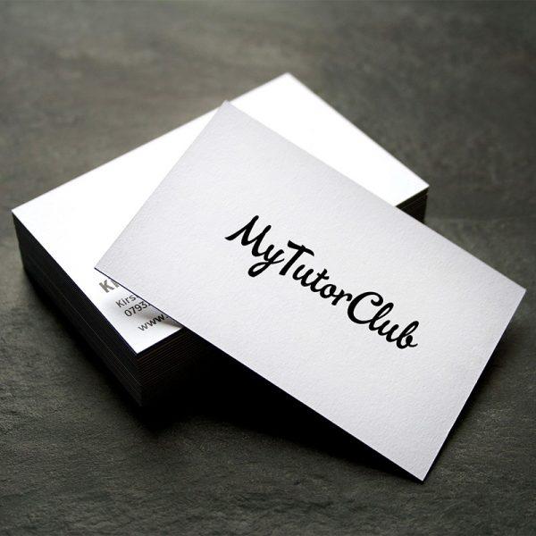 Card visit giấy mỹ thuật