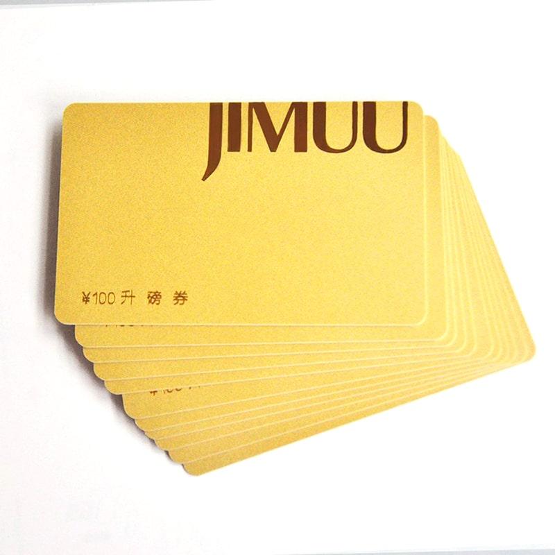 In name card nhũ vàng cao cấp