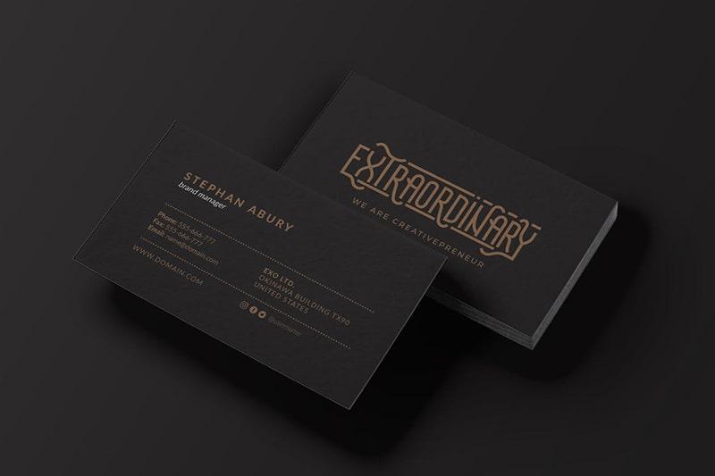 Thiết kế & in ấn name card nhanh rẻ đẹp tại HCM