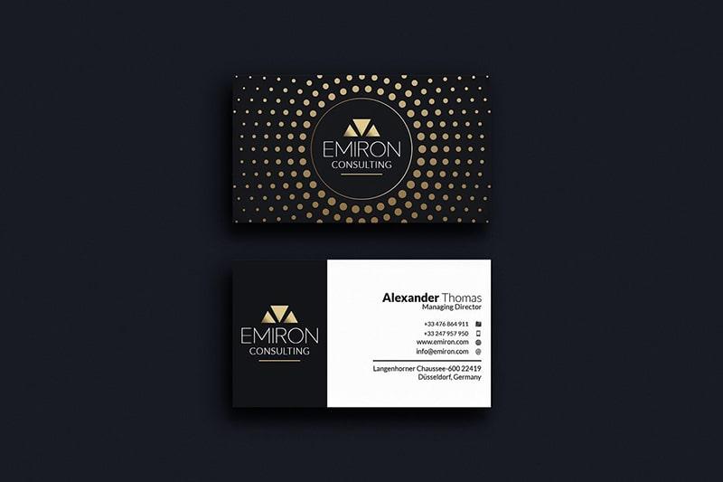 Thiết kế in nhanh name card chất lượng