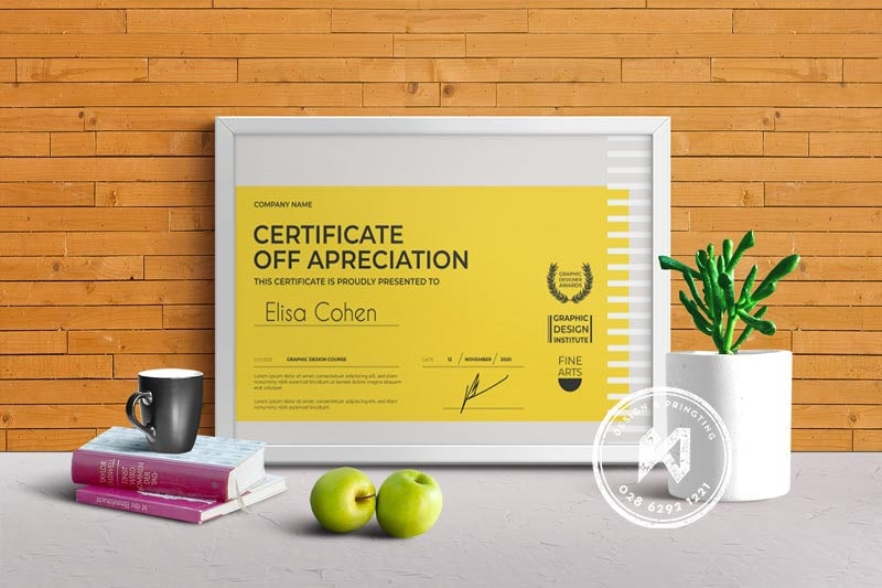 Mẫu giấy khen thưởng dạng mới