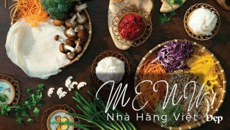 In menu nhà hàng Việt đẳng cấp phải làm như thế nào?