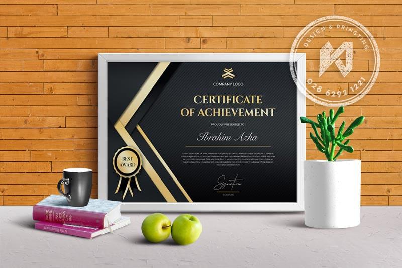 Premium template - Bằng khen cao cấp dành cho doanh nghiệp