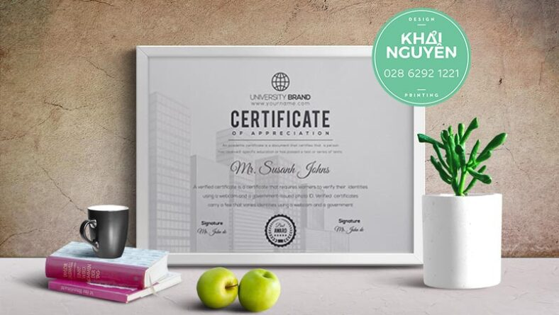 Business, diploma and education documents Premium Vector