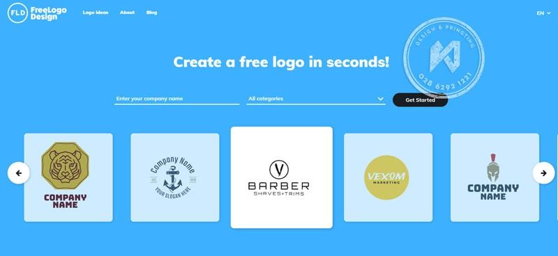 Freelogodesign website thiết kế logo miễn phí