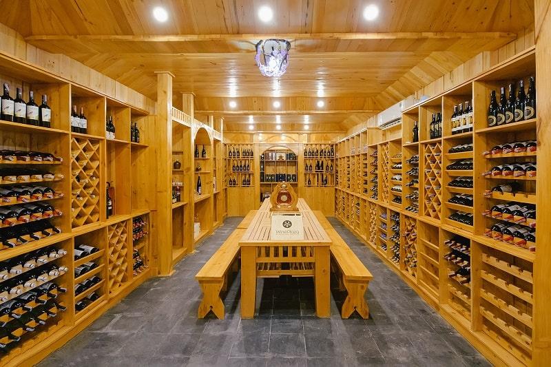 Thiết kế nhà hàng đẹp với không gian Rượu đặc biệt