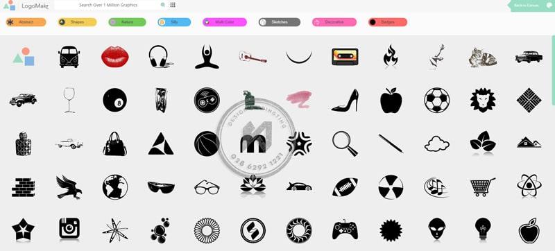 Logomakr - Làm logo miễn phí đơn giản