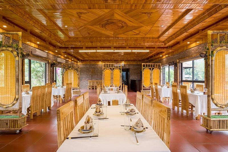 Không gian nhà hàng Vị Xưa Quán