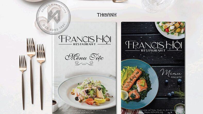 Bộ thiết kế nhà hàng Á Âu kết hợp