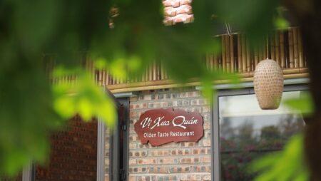 Bộ thiết kế nhà hàng Việt truyền thống – Menu, Voucher, Card visit Vị Xưa Quán