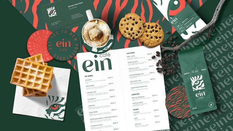 Art coffee branding - Bộ nhận diện cà phê nghệ thuật