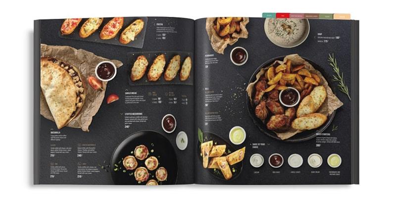 Thiết kế thực đơn thức ăn nhanh