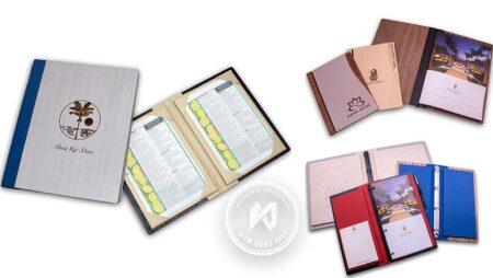 Sản phẩm mới: Menu gỗ có tay gấp folder độc đáo.