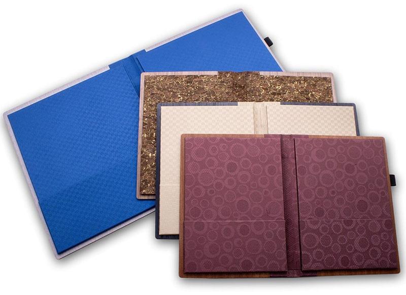 Sản phẩm mới: Menu gỗ có tay gấp folder độc đáo