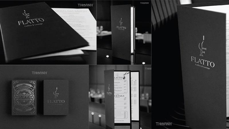 FLATTO - Coffee & Lounge Luxury Branding Design