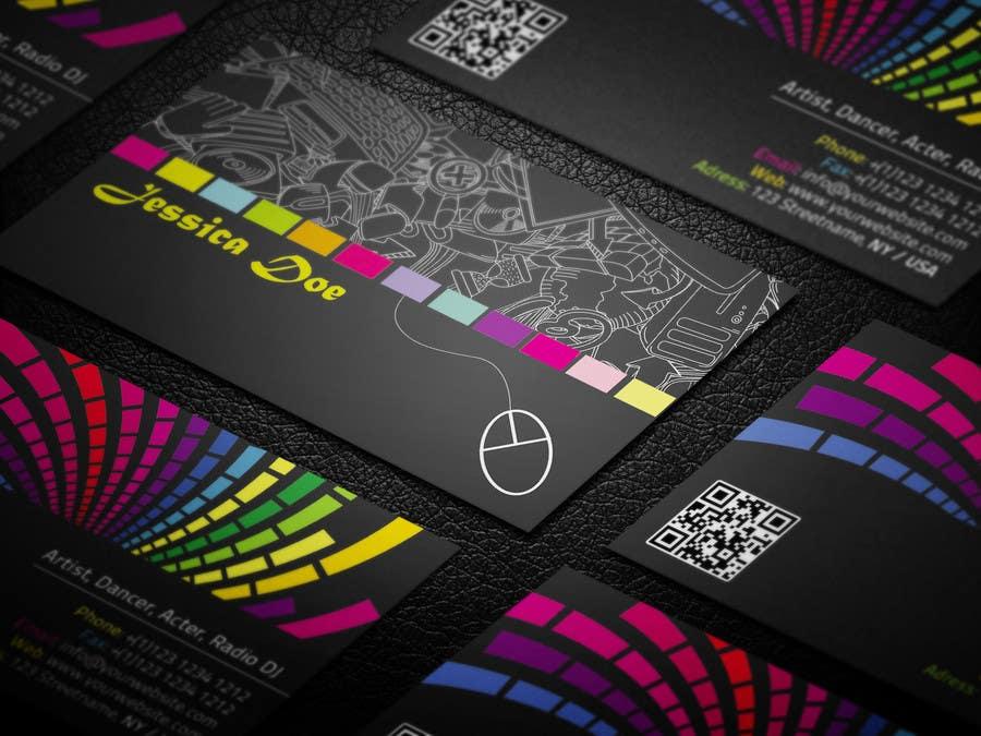 Art Business Card Design - Câu chuyện của màu sắc