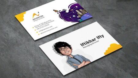 12 mẫu Art business card – thiết kế card visit nghệ thuật.