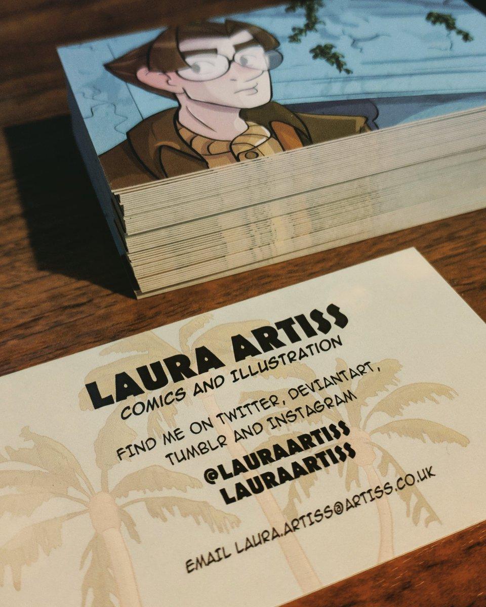 Art Business Card phong cách hoạt hình