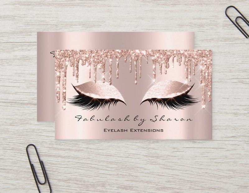 Nail Beauty Card Visit Art