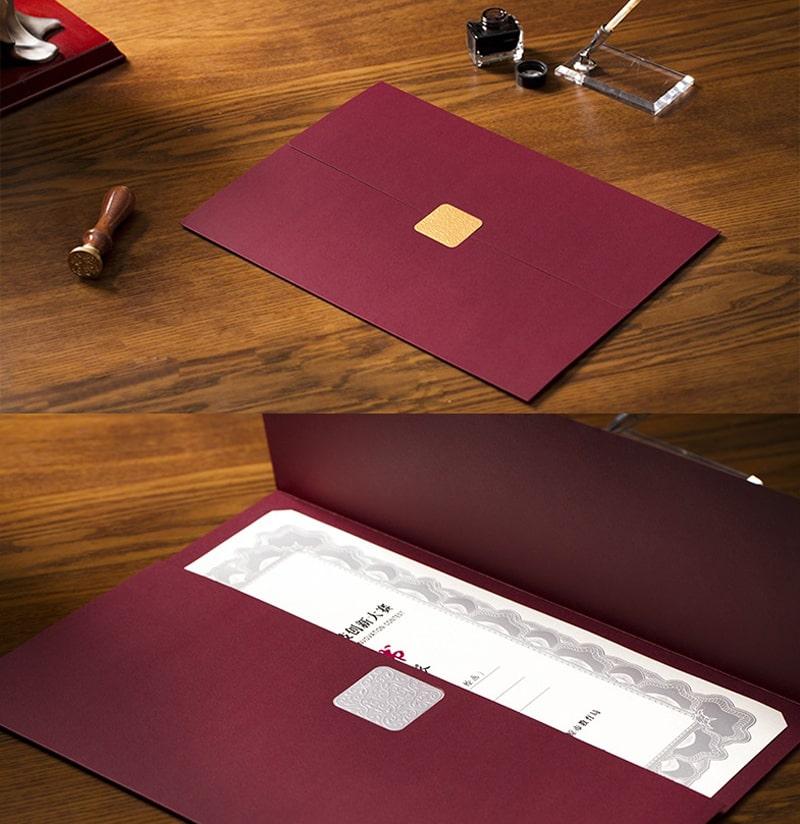 Mẫu in bằng khen giấy mỹ thuật cao cấp