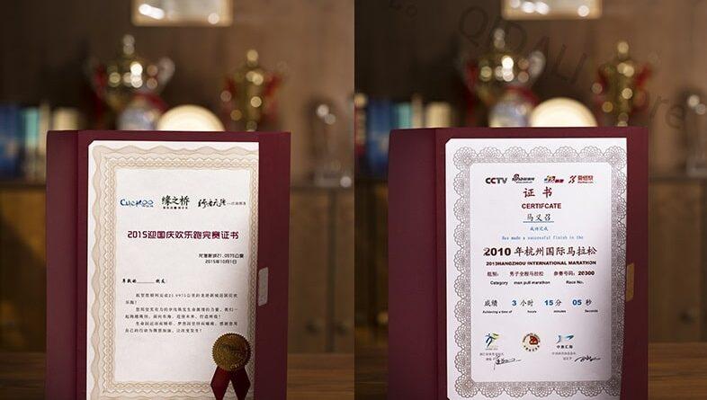 Mẫu giấy khen bằng giấy art cao cấp